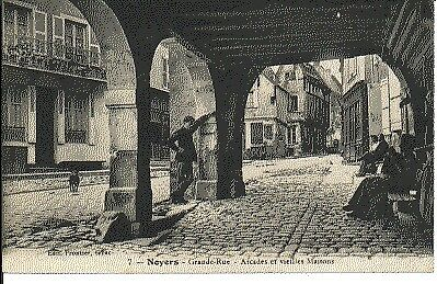 (S-70921) FRANCE - 89 - NOYERS CPA      FRONTIER  ed.