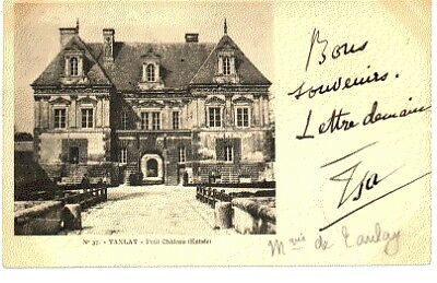 (S-86400) France - 89 - Tanlay Cpa
