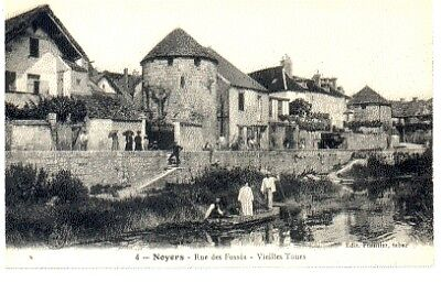 (S-92315) FRANCE - 89 - NOYERS CPA      FRONTIER ed.