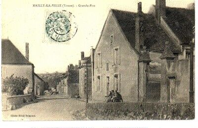 (S-98790) France - 89 - Mailly La Ville Cpa