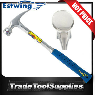"""Estwing Hammer 24oz/672g 16""""/406mm Framing Claw Smooth Face E3-24S"""