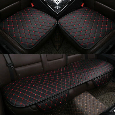 Non-slip Car Seat Cover Breathable PU Leather Pad Mat for Auto Chair Cushion