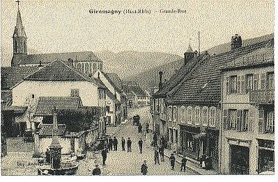 (S-58916) France - 90 - Giromagny Cpa Fontaine - Eglise