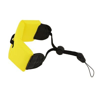 Waterproof digital camera suitable for Sony TX5 Floating wrist strap yellow H1X6