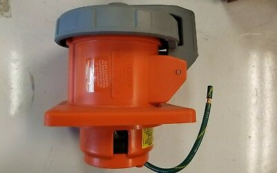 460R12W Hubbell 60 Amp Receptacle