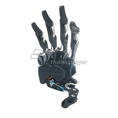 Assembled Robot Right Hand Mechanical Claw Arm Five Fingers Gripper with Servo