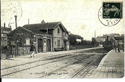 (S-58053) FRANCE - 94 - GENTILLY CPA      E.L.D. ed.