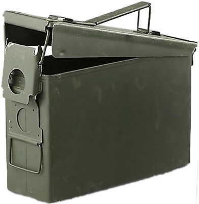 30 Cal Ammo Can Box Grade A Military Surplus M19A1 Metal Storage 7.62 MM WW30MM