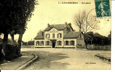 (S-72539) FRANCE - 95 - LUZARCHES CPA      ESNAULT  ed.