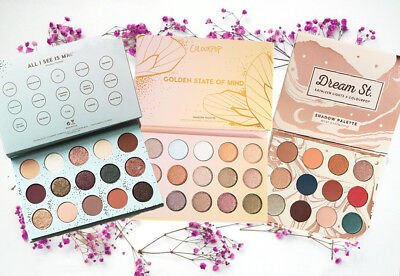 All I see Is Magic+Golden State Of Mind +Dream St. Eye Shadow Powder Palette New