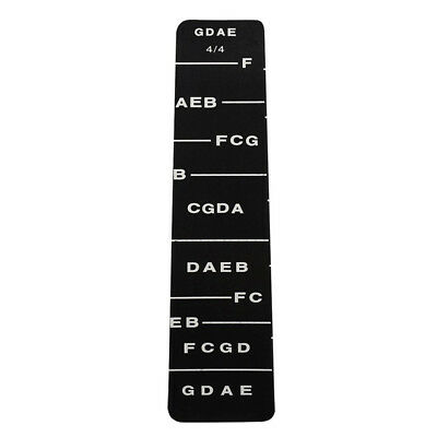 1pcs Fretboard Fingerboard Fret Finger Chart Guide Label Sticker Poster for B6W4