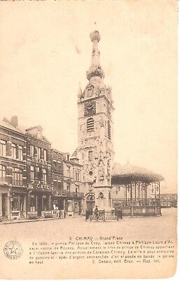 carte postale - Chimay - CPA - Grand'Place
