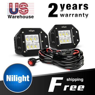 on nilight led light bar wiring harness