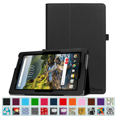For Verizon Ellipsis 10 HD 10 inch Tablet 2017 Folio Case Cover Stand Sleep/Wake
