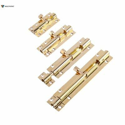 New 60mm Window Lock Stamped Steel Antique Brass Finish Locks Latches Hardware