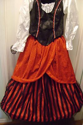Renaissance /Pirate's Beauty Dress Ankle Length OneSize fits Most
