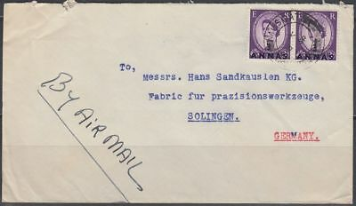 1962 Commercial Cover BPAEA MUSCAT OMAN to Germany [bl0332]