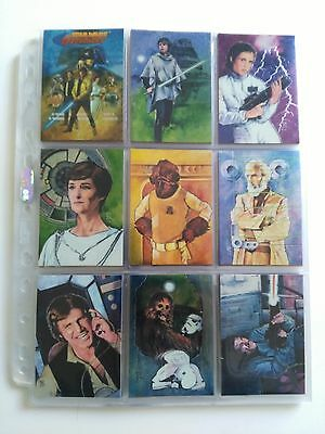 Star Wars Topps Finest card set with promo cards1996 EX/NM