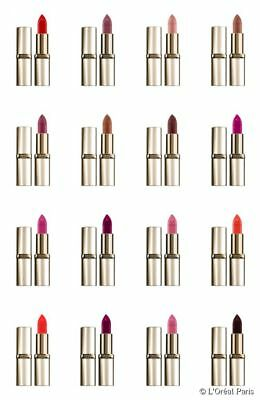 ROUGE A LEVRES color riche L'OREAL mat 36 couleurs exclusives maquillage beauté