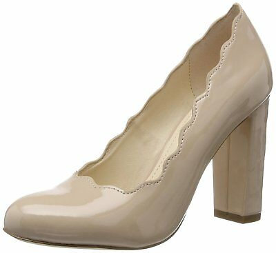 Womens Another Pair Of Shoes Size Uk 6 7 8 9 39 40 41 42 Nude Patent Court Shoes