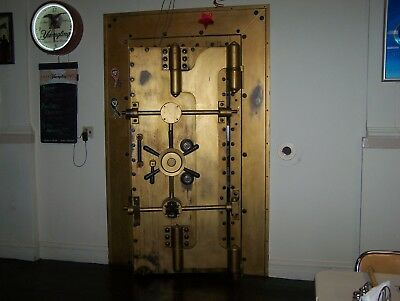 Vintage, Antique Bank Vault Door