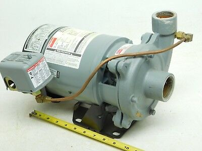 USED DAYTON 9K861A JET PUMP MOTOR with TEEL 2PC25-0208 PUMP 115V 1/2HP (AP)