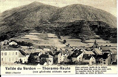 (S-73856) France - 04 - Thorame Haute Cpa