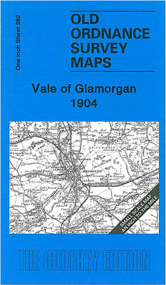 Old Ordnance Survey Map Vale Of Glamorgan 1904 Cowbridge Porthcawl Bridgend