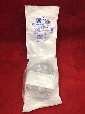 NEW SURGICAL DIRECT Insufflation Tubing Luer Lock w/Hydrophobic Filter SD500-00