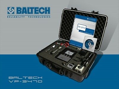 BALTECH VP-3470 (BALANCE) Industrial Machine Vibration Analyzer/Dynamic Balancer