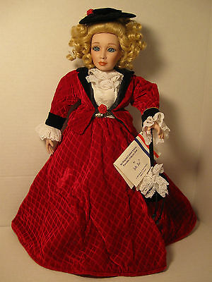 "16"" Jane Porcelain Collector Doll by Bette Ball, 1995, Goebel, Orig. Limited Ed."