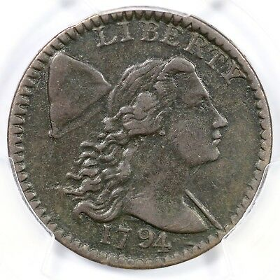1794 S-63 PCGS VF 30 Head of 94 Liberty Cap Large Cent Coin 1c