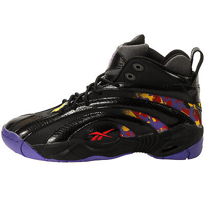 569601b8465 REEBOK MEN S Shaqnosis OG Shoe NEW AUTHENTIC Black Purple Yellow Red V61028  -  73.99