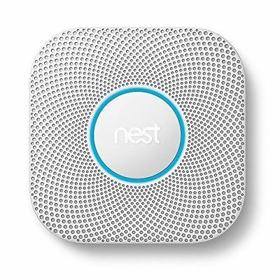 Nest Protect Smoke and Carbon Monoxide Alarm 2nd Gen - S3000BWES - New/Sealed!