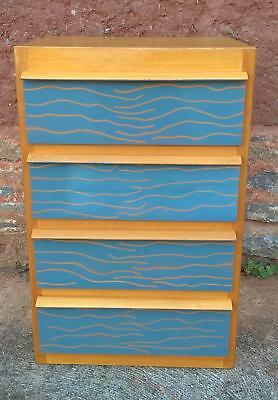 ❤ Upcycled Retro Small Chest / Bedside Chest ❤