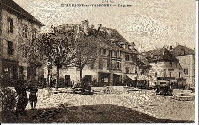 (S-601) France - 01 - Champagne En Valromey Cpa