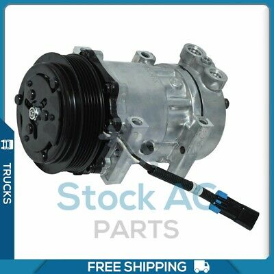 NEW A/C COMPRESSOR for Kenworth T800, W900/ Peterbilt 379, 387 - F696002122  QR