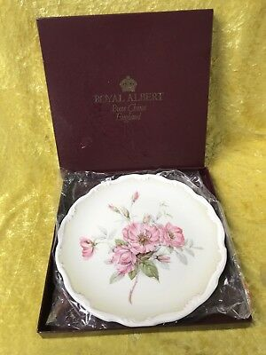 Royal Albert FESTIVAL FANFARE Rose National Garden Festival 1986 Plate