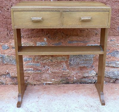 Art Deco Style Vintage Side Table / Writing Table / Desk ....FREE DELIVERY ?