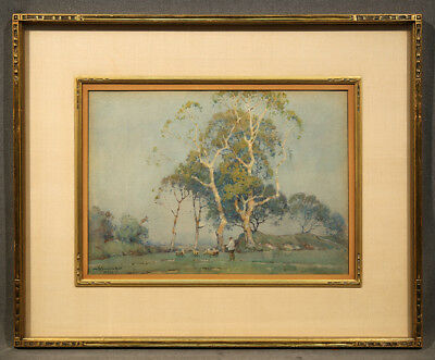 Early 20th Century Watercolor Landscape signed A. Moulton Foweraker (BRITISH)