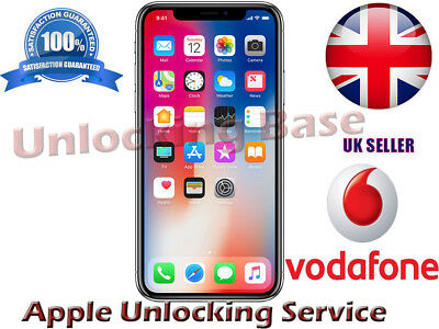 Vodafone Uk Unlock Service For  Iphone 7 Plus In 24-120 Hours -No Need Phone Num