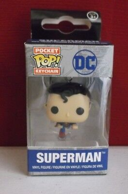 Funko Classic Superman Pocket Pop Key Chain  Dc Legion Of Collectors  Vinyl  New