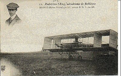 (S-228) FRANCE - 01 - AMBERIEU EN BUGEY CPA      S.F.  ed.