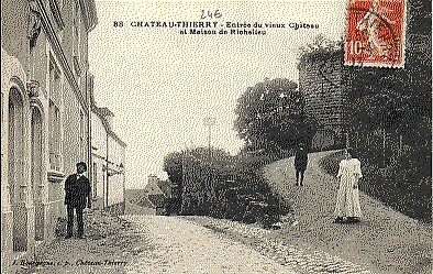 (S-3854) FRANCE - 02 - CHATEAU THIERRY CPA      BOURGOGNE J.  ed.