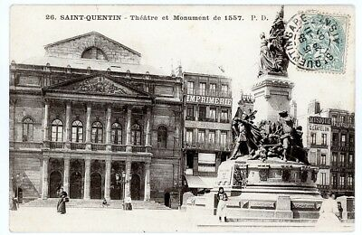 (S-4158) FRANCE - 02 - ST QUENTIN CPA      P.D.  ed.