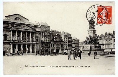 (S-4161) FRANCE - 02 - ST QUENTIN CPA      P.D.  ed.