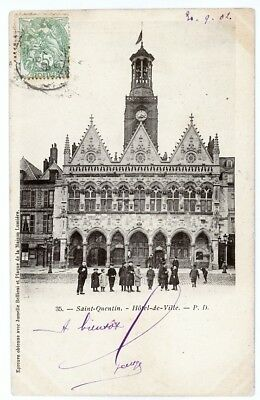 (S-4163) FRANCE - 02 - ST QUENTIN CPA      P.D.  ed.