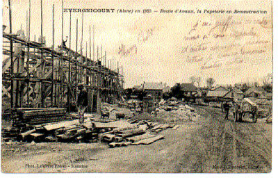 (S-87024) France - 02 - Evergnicourt Cpa