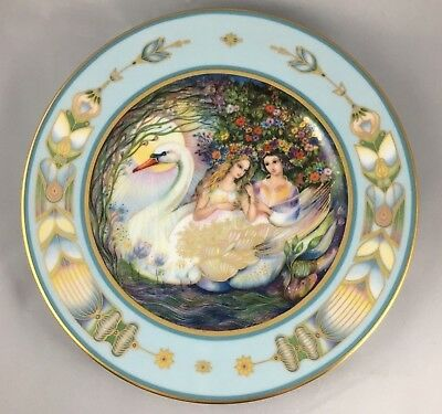 Vintage Dreams Of Katharina Collector Plate Promise Of Love 1985