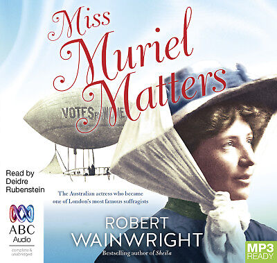 New - Miss Muriel Matters MP3 - MP3 CD - ABC Shop